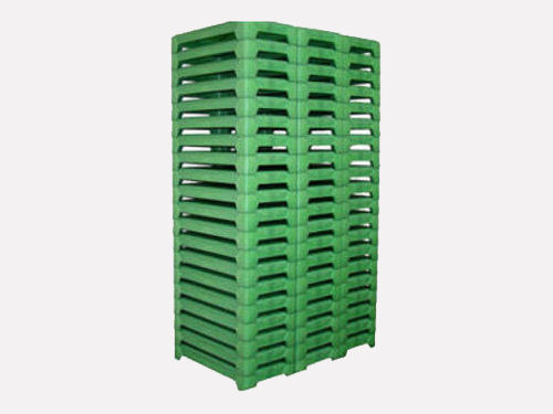 pallet of drying trays